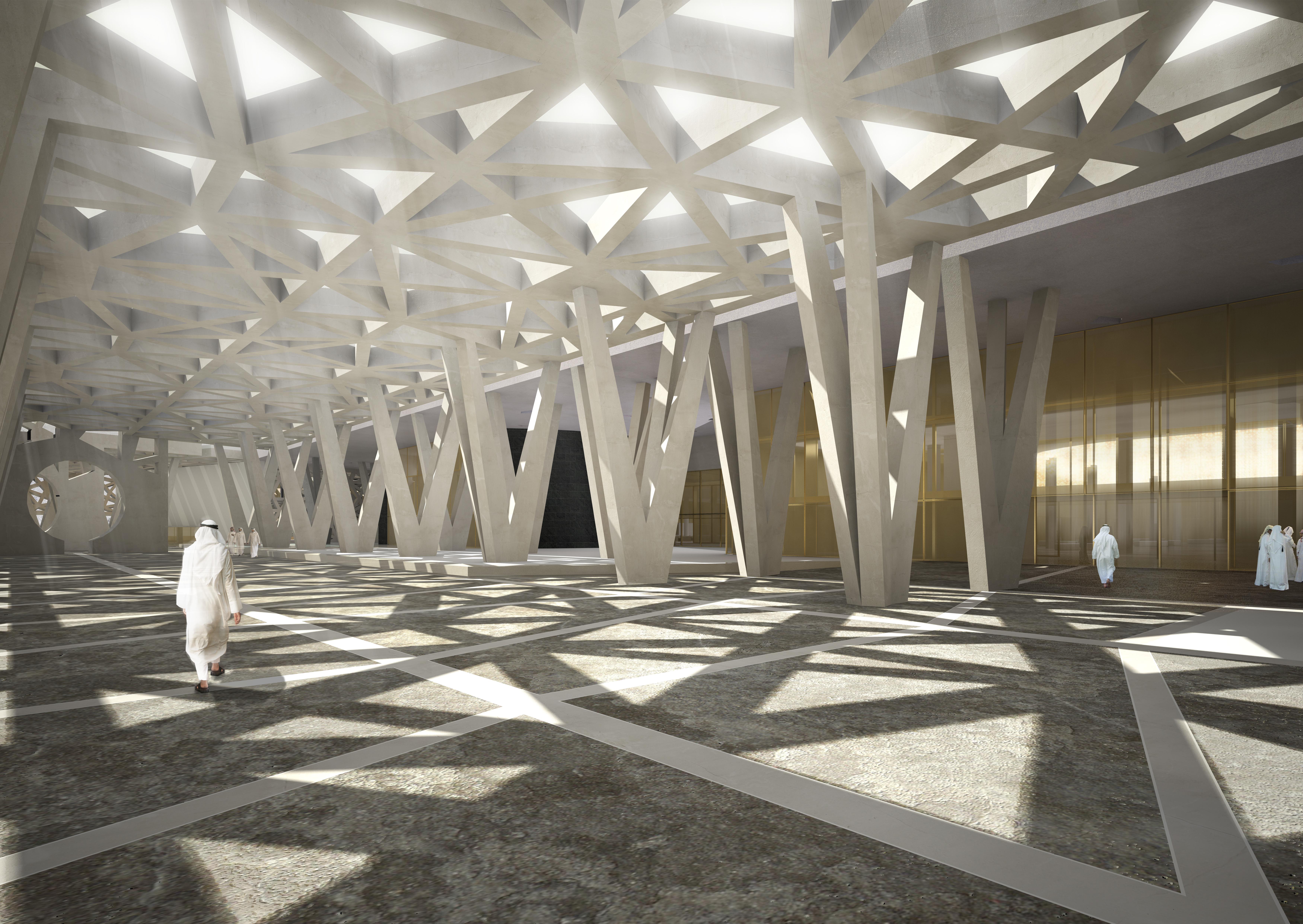 Concorso su invito: Centro Cerimonie famiglia reale, Riyadh